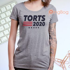 Torts 2020 Columbus Blue Jackets 3-4 Raglan T-Shirt