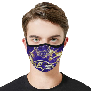 Baltimore Ravens Face Mask - Adults Mask PM2.5 - COVID-19